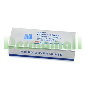 커버글라스(COVER GLASS, 18*18mm)